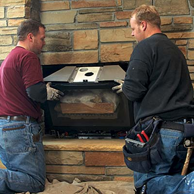 Gas Fireplace Installation Repair Cleaning In Kentucky